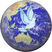 peace globe Aust