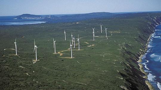 wind farm Alnany WA