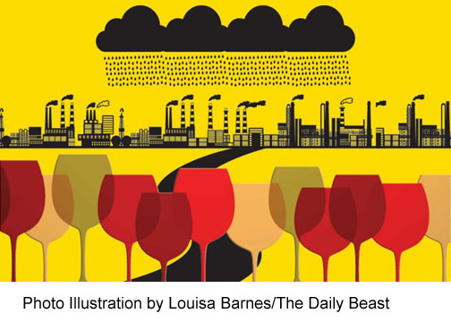 wine threat