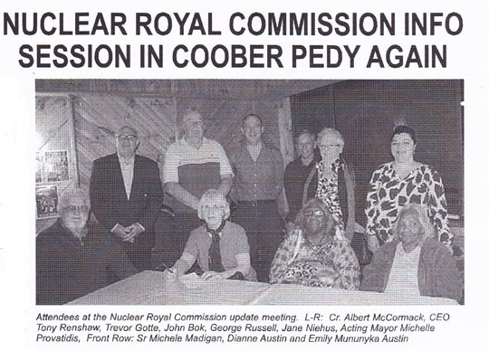 Coober Pedy RC Sept 15 2