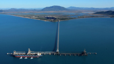 Queensland's Abbot Point, surrounded by wetlands and coral reefs, is set to become the worlds largest coal port.