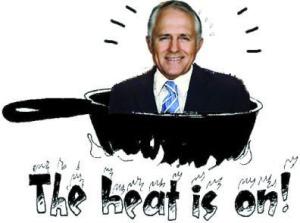 Turnbull in hot pan