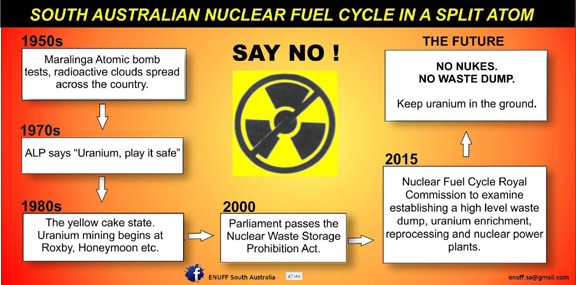 Diagram SA Nuclear Fuel Cycle