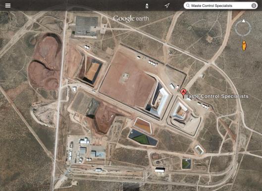 WCS Rad Waste Dump Birds Eye View (Texas)