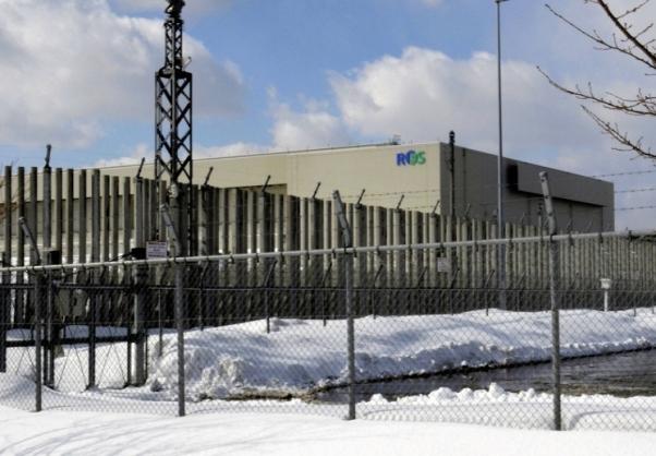 Recyclable Fuel Storage Co interim storage facility mutsu, Aomori Prefecture.jpg